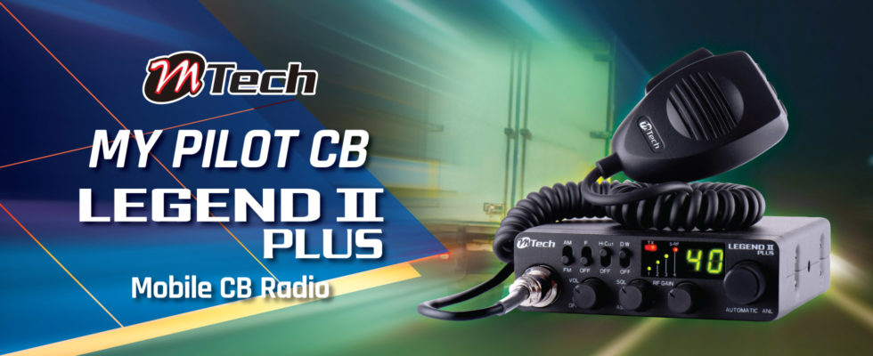 M-Tech LEGEND II PLUS CB Radio