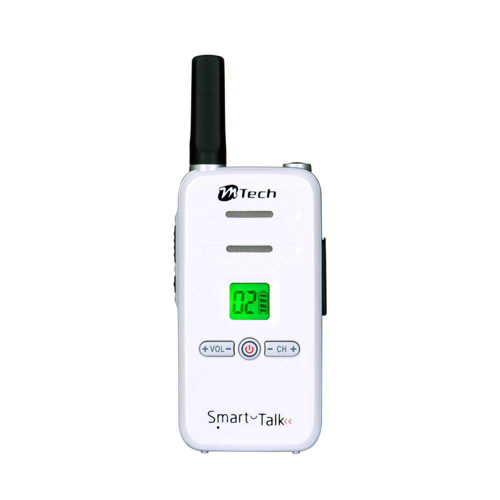 Smart-Talk Front View (White)